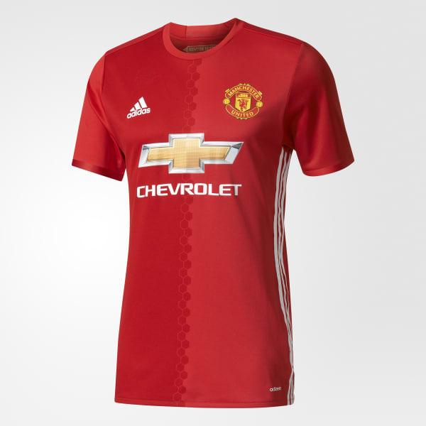 hot sale online 5e5a2 31609 adidas Manchester United FC Home Authentic Jersey - Red | adidas US