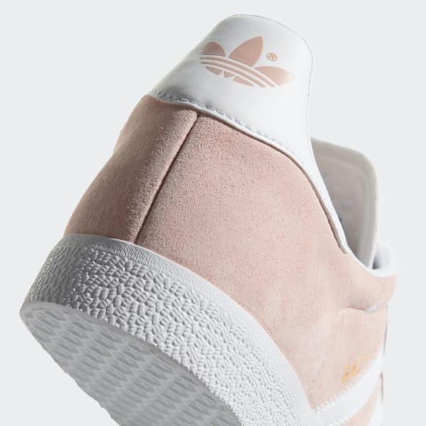 Adidas Originals Gazelle Sko Vapour PinkHvidGold Metallic