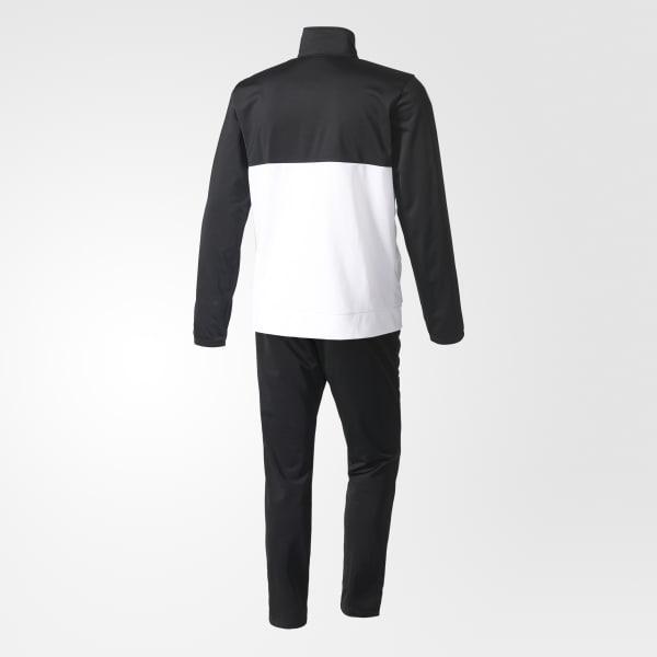 adidas herren back to basics 3 streifen trainingsanzug