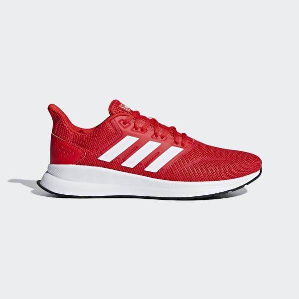 Buty do chodzenia dla dzieci Adidas Falcon niebiesko czerwone ADIDAS