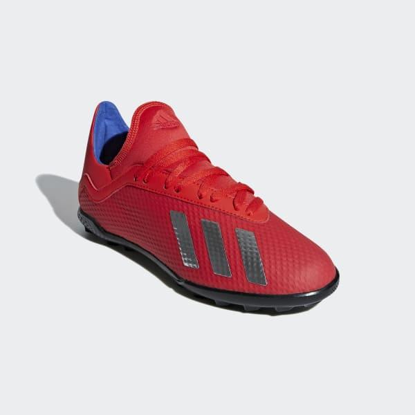 266265cf92d14 Zapatos de Fútbol X Tango 18.3 Césped Artificial - Rojo adidas ...