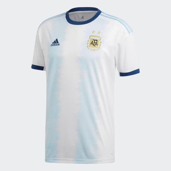 077e12411a814 adidas Jersey Uniforme Titular Selección Argentina - Blanco