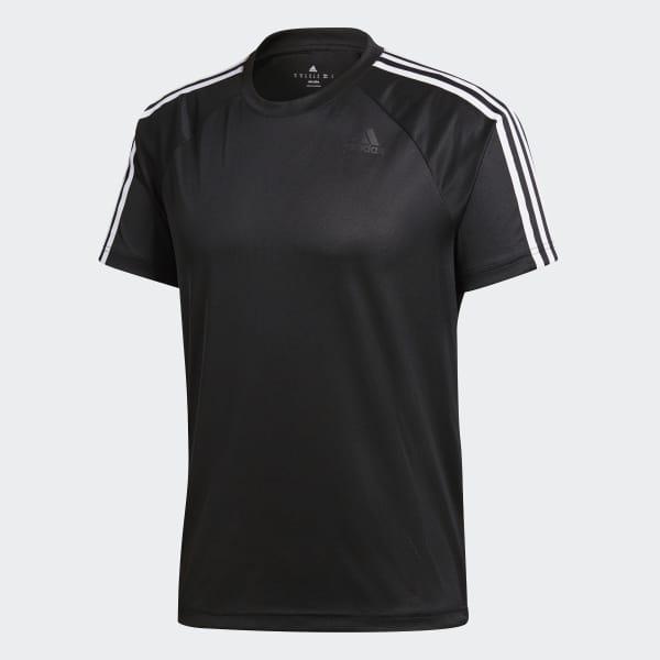 db334198ca Camiseta D2M 3-Stripes - Preto adidas