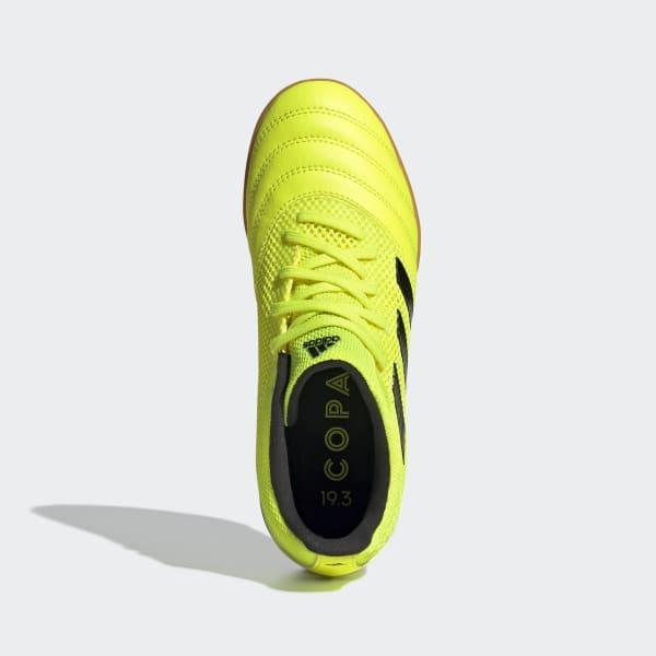 Adidas, Buty dziecięce, Copa 19.3 IN Sala EF0561, żółty