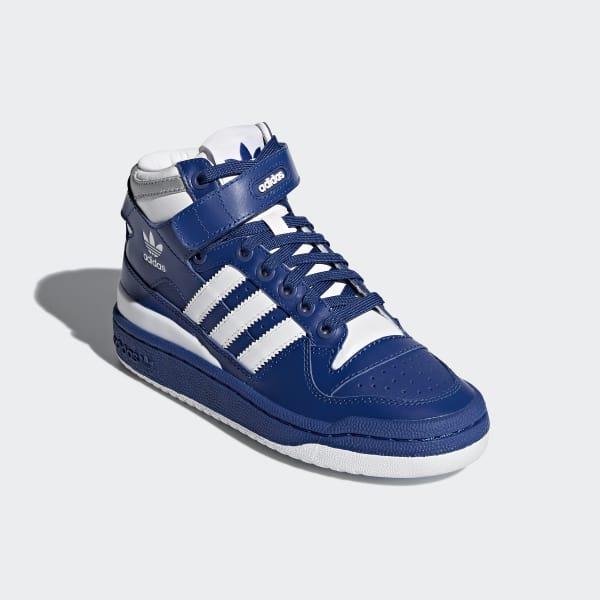ed24ca2103f adidas Forum Mid Schoenen - blauw | adidas Officiële Shop