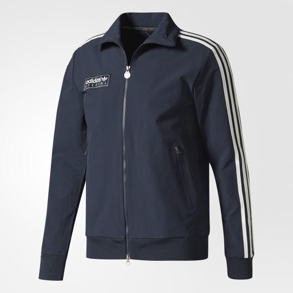 24ccdbd840 adidas Forest Gate Track Jacket - Blue | adidas US