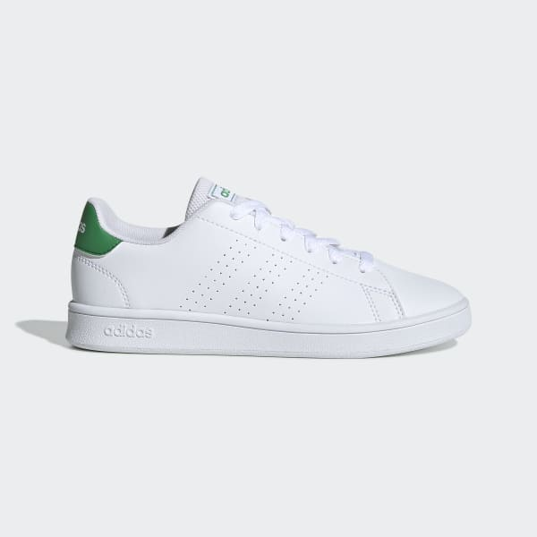 green and white shoes