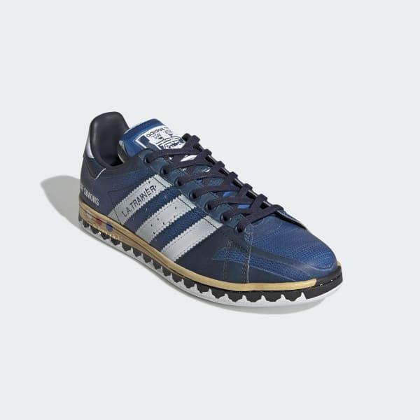99468c6331c adidas RS LA Trainer Stan Smith Shoes - Blue