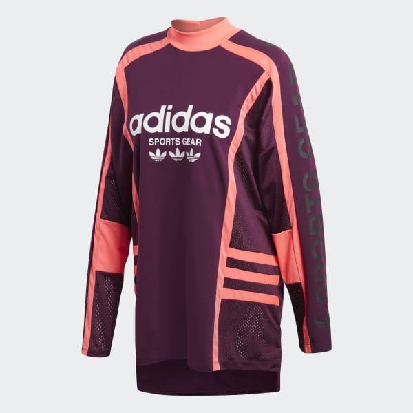 5b6a8b3093c adidas AA-42 Sweatshirt - Red | adidas Australia