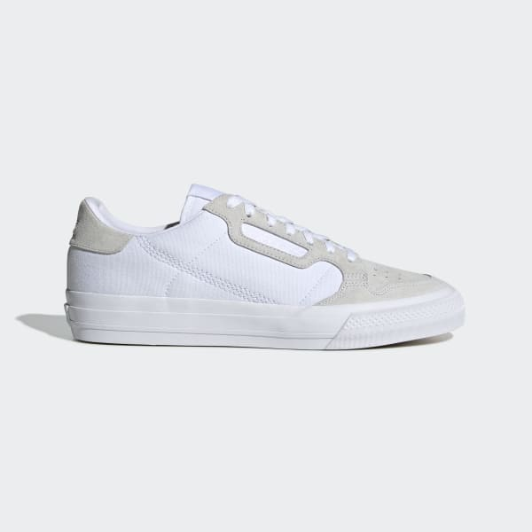 adidas Continental Vulc Shoes Bialy | adidas Poland