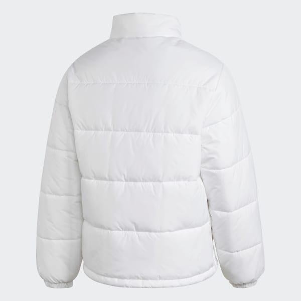 adidas Padded Stand Collar Puffer Jacket Vit   adidas Sweden