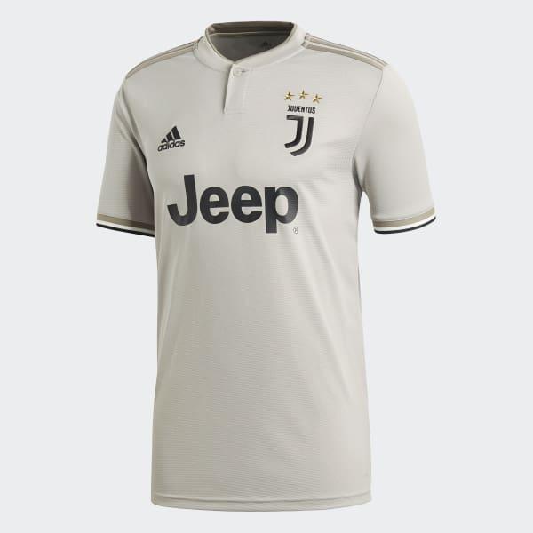 adidas Camiseta Suplente Juventus 2018 - Gris  dc8fe93404d89