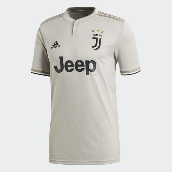 2ac21751366 adidas Juventus Away Jersey - Grey