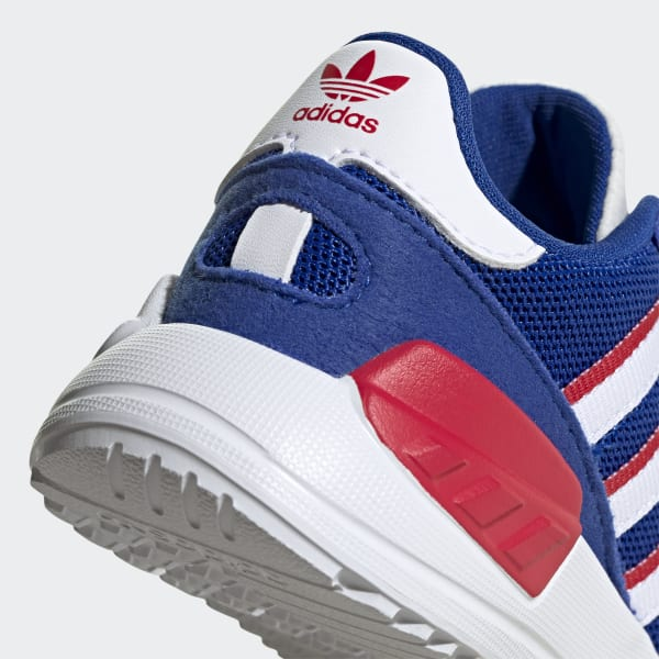 adidas trainer blu e bianche