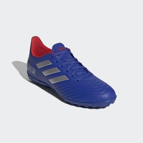 Chuteira Predator Tango 19.4 Society - Azul adidas  62abdf3126bf5