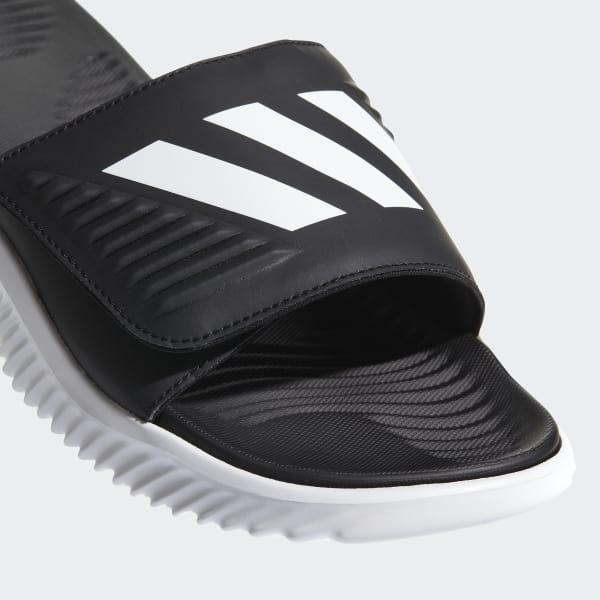 04d54de9b0b32 adidas Alphabounce Basketball Slides - White