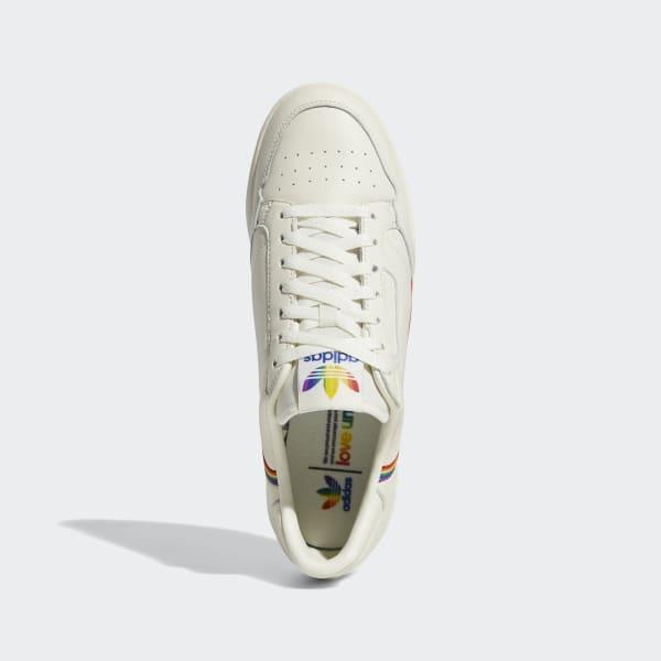 adidas Continental 80 Pride Schoenen Wit   adidas Officiële Shop