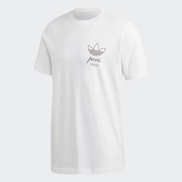 adidas Paris Logo T skjorte Hvit | adidas Norway