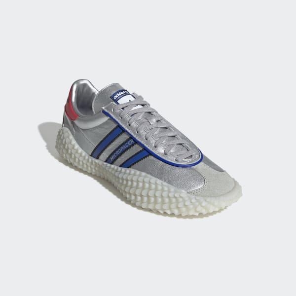 superior quality 9adc0 bcdce adidas CountryxKamanda Schuh - Silber | adidas Deutschland