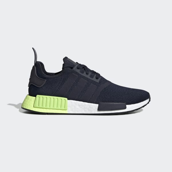 NMD R1 Navy and Green Shoes | adidas