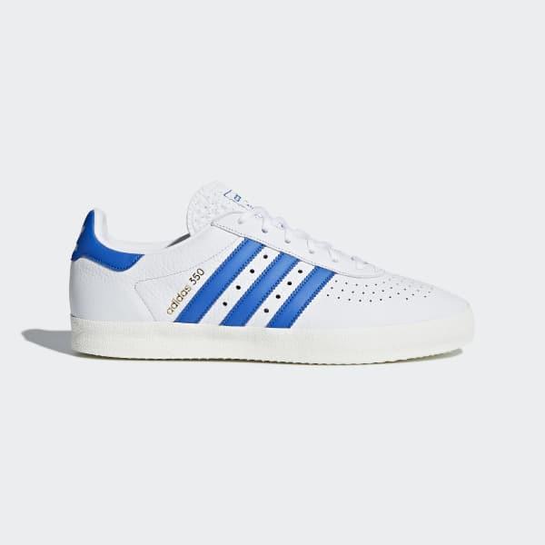 ea7387e26e0b5 adidas 350 Shoes - White