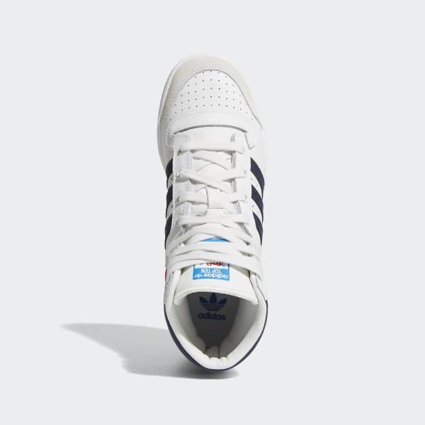 adidas Top Ten Hi Shoes - White   adidas US