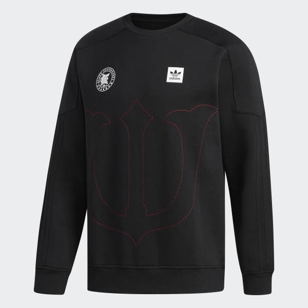 51489b3d4eecc Polera Cuello Redondo Evisen - Negro adidas