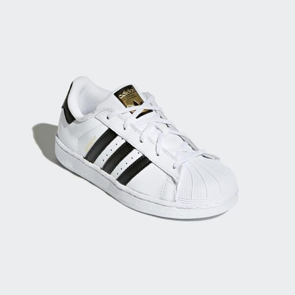 18d62d37ff99a adidas Tenis Superstar Foundation - Blanco