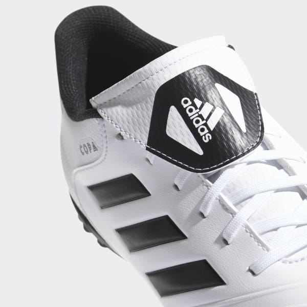 adidas Botas Copa Tango 18.4 Pasto Sintético - Blanco  894c33493b032