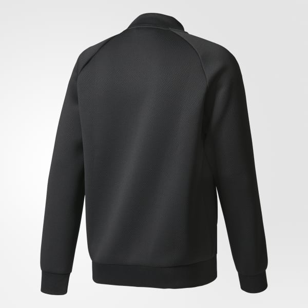 innovative design 01022 3158e adidas Men s SST Waffle Track Jacket - Black   adidas Canada