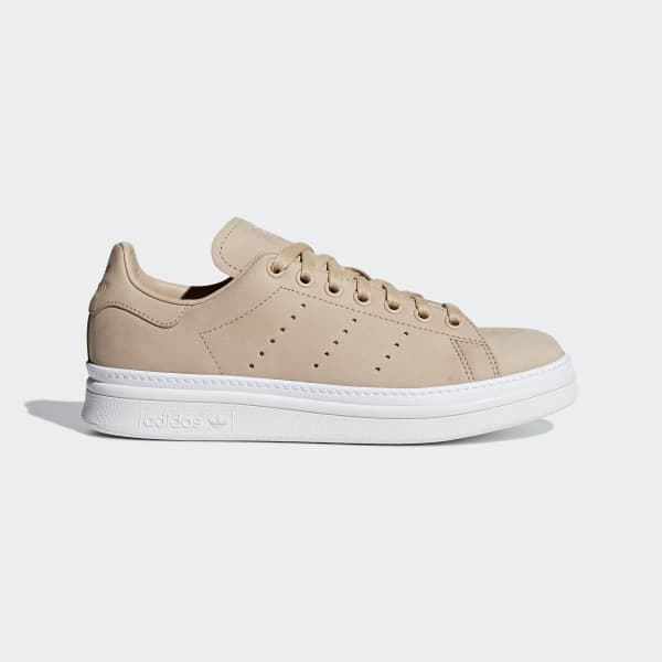 56d7168b308 adidas Stan Smith New Bold Shoes - Beige