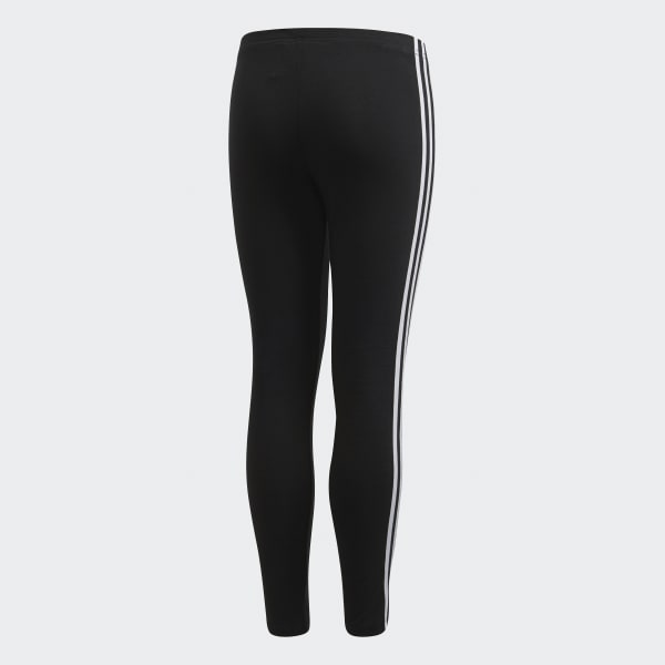 8399a711d5cdc adidas 3-Stripes Leggings - Black | adidas US