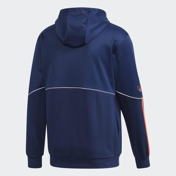 adidas Originals Herren Outline Fleece Full Zip Hooded