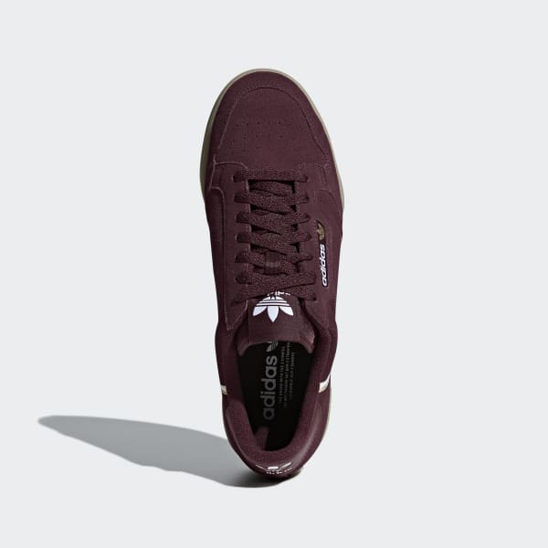 super popular cd229 7b079 adidas Sapatos Continental 80 - Vermelho  adidas MLT