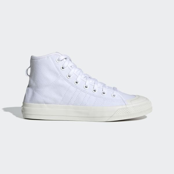 adidas Nizza RF Hi Shoes White | adidas US