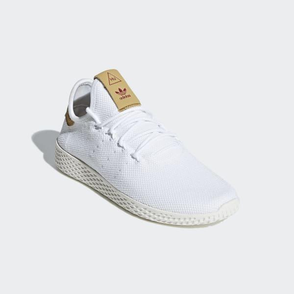 Adidas Originals Pharrell Williams Tennis Hu Casual Skor Vit