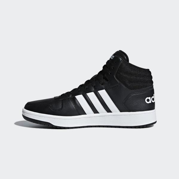 adidas VS Hoops Mid 2.0 Shoes Svart | adidas Sweden