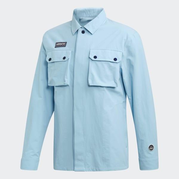adidas Gilbraith Overshirt Blue | adidas US