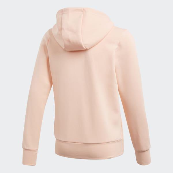adidas Essentials 3-Stripes Mid Hoodie - Pink   adidas Ireland 4bebfe2640