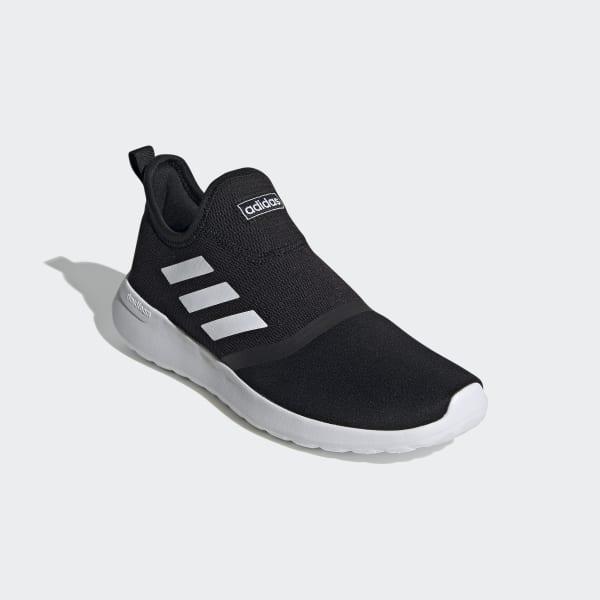 adidas Lite Racer Slip-On Shoes - Black