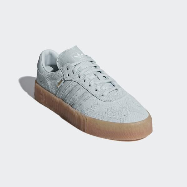 buy popular 15a50 db8d4 adidas SAMBAROSE Shoes - Green  adidas UK