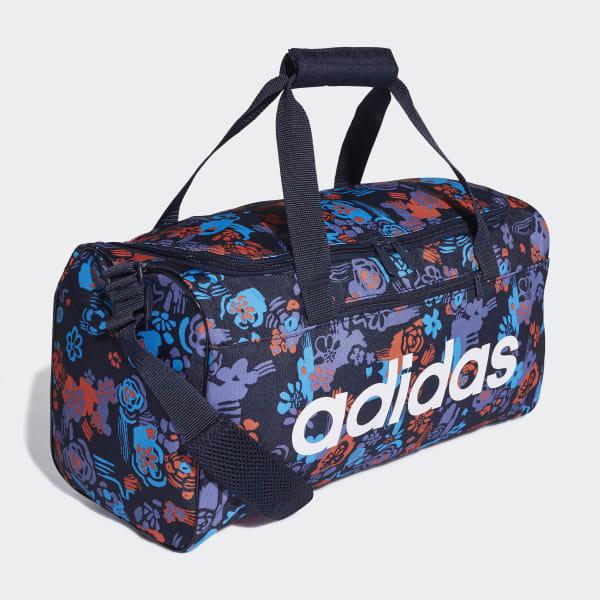 785abf31e Bolsa de deporte pequeña Linear Core Graphic - Azul adidas | adidas ...