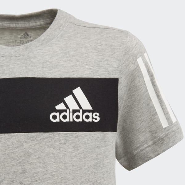 ADIDAS Kinder T Shirt Sport ID grau   110