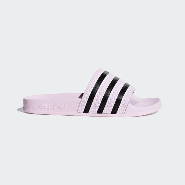 86119cc66b2 adidas Adilette Badslippers - zwart | adidas Officiële Shop