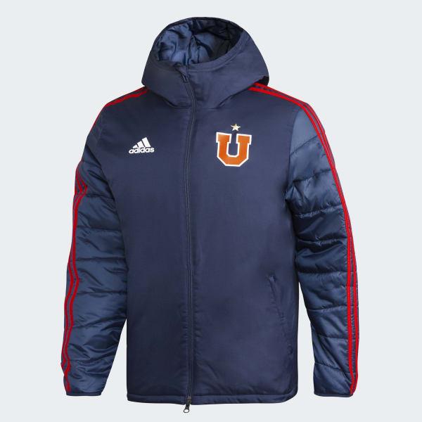 407bce9f23175b Chaqueta de Invierno Club Universidad de Chile - Azul adidas   adidas Chile