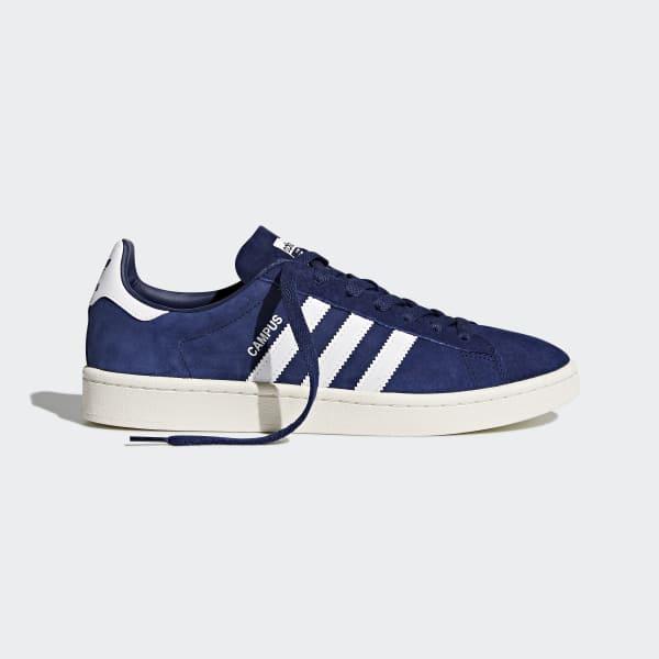 Adidas Originals Campus M BZ0086 skor marinblå