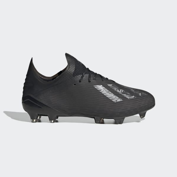 adidas X 19.1 Firm Ground Boots - Black