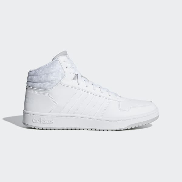 adidas Hoops 2.0 Mid Shoes - White