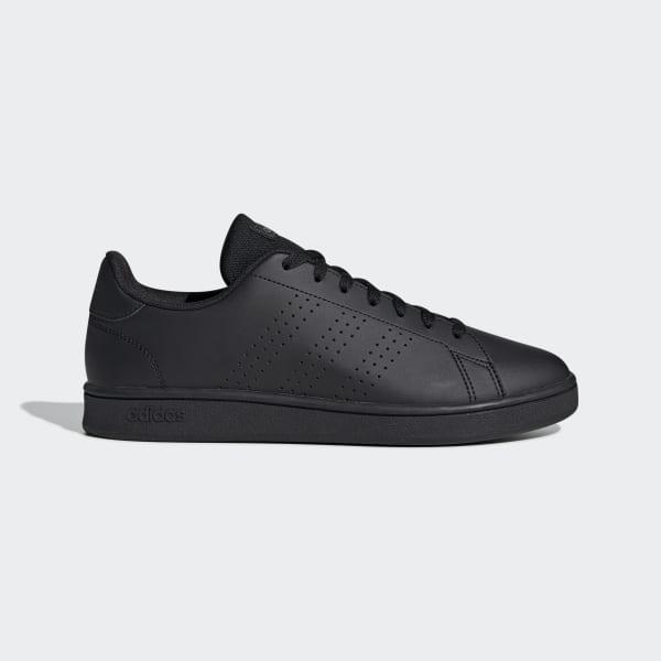 Zwarte Adidas Veterschoen Heren Advantage Base kopen bij