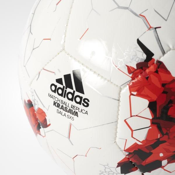Bola Futsal Krasava 5x5 - Branco adidas  2e34f60d97e7e